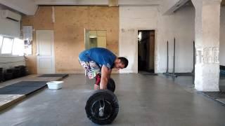 Георгий Карачаушев Рывок 90 кг на 2 повтора