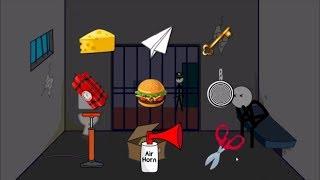 Stickman Jailbreak 1 & 6 By Dmitry Starodymov & Escape the Prison By Ber Ber Games