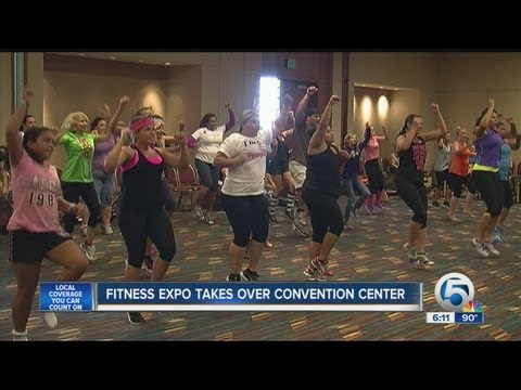 Second annual Fitness Expo at the Palm Beach Convention Center