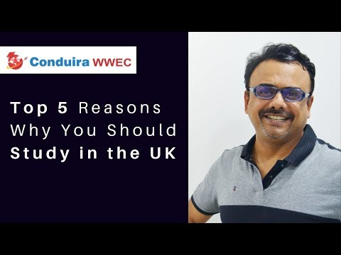 Top 5 Reasons Why You Should Study in the UK