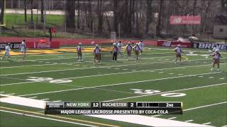 MLL Week 2 Highlights: New York Lizards at Rochester Rattlers