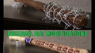 How to Make Negan's Bat and How to Make Harley Quinn's Bat (Baseball bat Modifications)