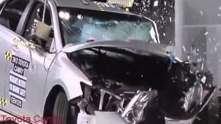 New Crash Test Hummer H3 -Toyota Camry