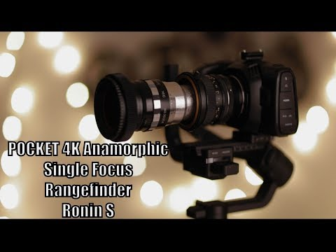 Single Focus Anamorphic Lens Attachment