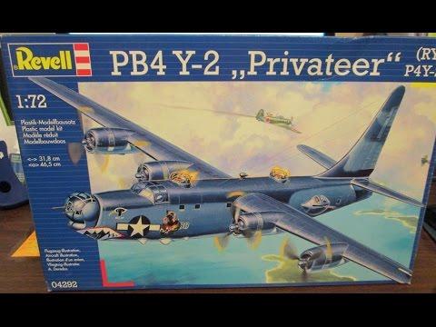 Revell/Matchbox 1/72 PB4 Y-2 Privateer