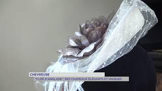 Salon des métiers d'arts – une chapelière présente à Rambouillet