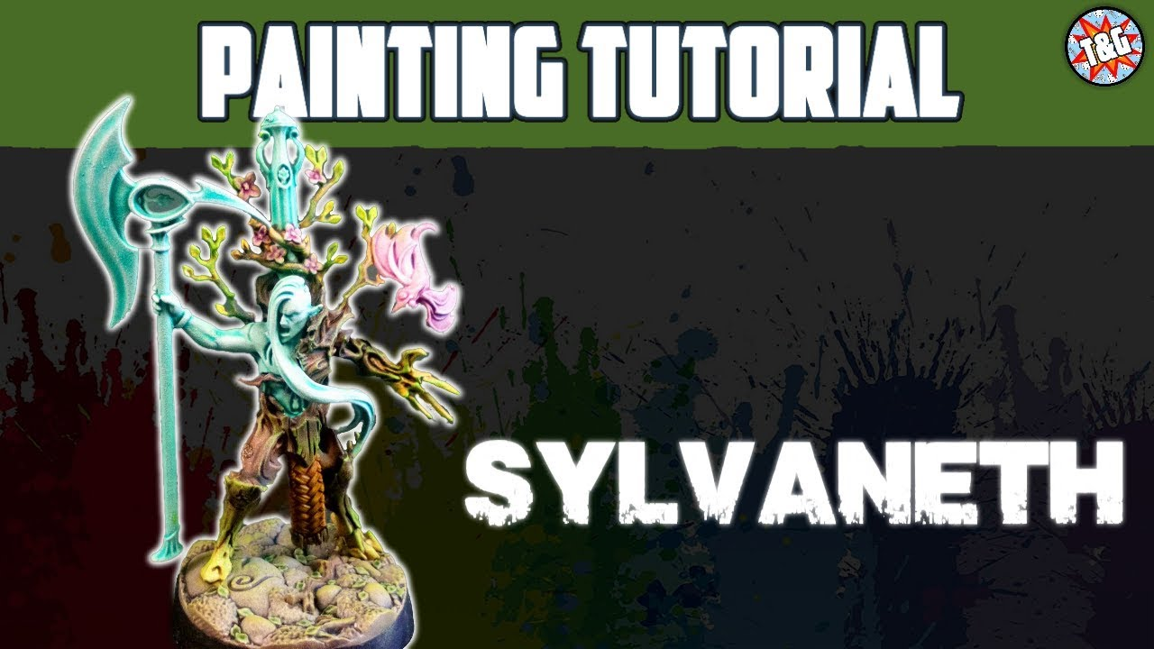 Contrast Painting Tutorial: Sylvaneth / Tree Revenants