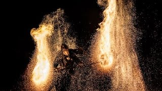 Freaks on Fire \u0026 Philgor Feuershow  Phoenix Fire Convention 2014