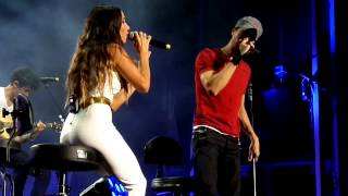Repeat youtube video Enrique Iglesias e India Martinez-Loco-Starlite 2015