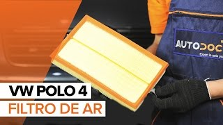 Como trocar filtro de ar do motor VW Polo | Tutorial HD
