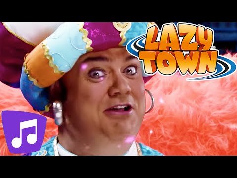Lazy Town I Greatest Genie & Many More Music Video