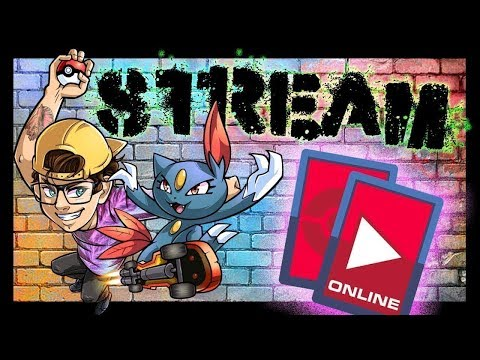 Andrew and Natalie Play Pokemon Trading Card Game Online