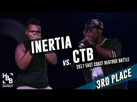 CTB vs Inertia   3rd Place   East Coast Beatbox Battle 2017