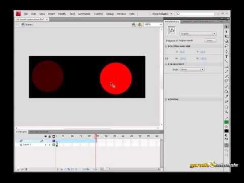 Tutorial Flash Belajar Boner, 3D Filter, dan Blend Mode #2 Mask Animation