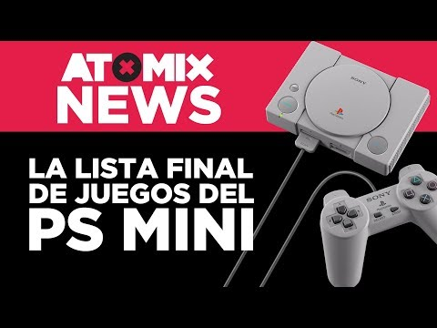 La lista final de juegos del PlayStation Mini – #AtomixNews [29/10/18]