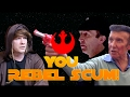 """watch he video of A Star Wars Sketch: """"YOU REBEL SCUM"""" 30 Years Later (ft.Original Actor, Barrie Holland)"""