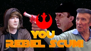 """A Star Wars Sketch: """"YOU REBEL SCUM"""" 30 Years Later (ft.Original Actor, Barrie Holland)"""