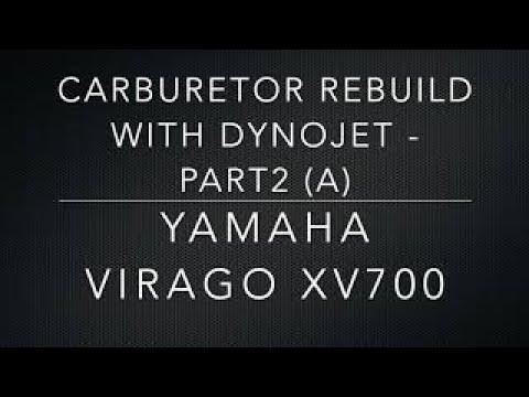 CARBURETOR REBUILD WITH DYNOJET - PART 2 (a)