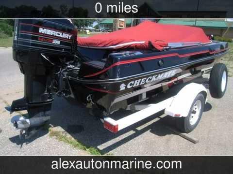 1994 CHECKMATE 186 PULSE//175HP MERCURY XRI 2.5//70MPH  PULSE 186 OUTBOARD  Used Boats - Alexandria,