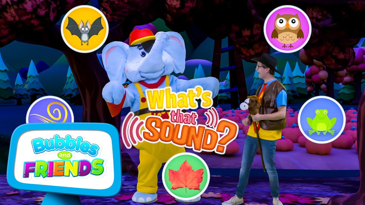 Spooky Sounds - Holiday Special   What's that Sound Halloween Edition   Halloween for Kids