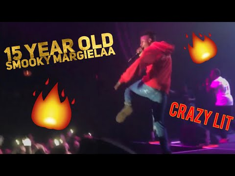 "15 Year Old SMOOKY MARGIELAA Lights Up Crowd ""Stay 100"" Live Performance (Dallas, TX)"
