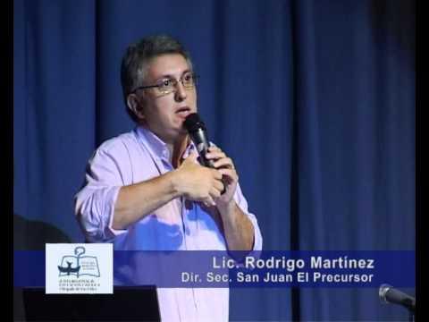 CHARLA LIC. RODRIGO MARTÍNEZ