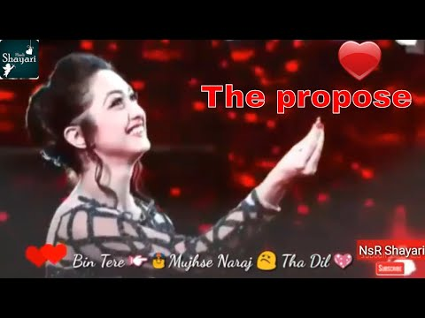 girl propose for boy,whatsapp status , whatsapp video, whatsapp Old video status by Nsr shayari