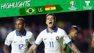 {Watch Online} Brasil vs. Bolivia 30 Goals Highlights Copa Amrica Telemundo Deportes