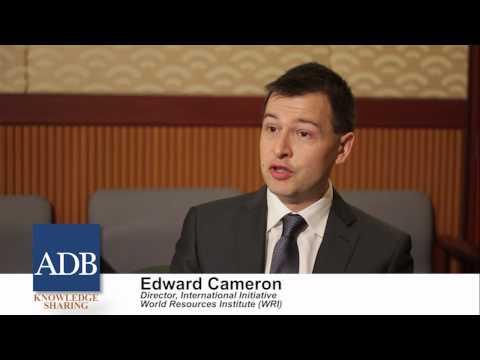 Sustainable Asia Leadership Program: Edward Cameron 10 September 2012
