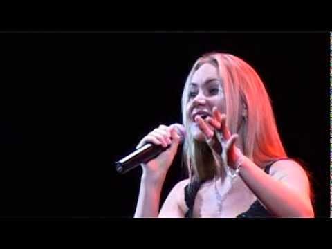 Певица Виктория Ланевская, концерт Александра Серова.