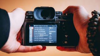 The best FUJIFILM XT3 settings for Photo and Video