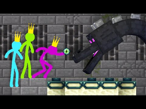 Stickman Vs Minecraft Animation - AVM Shorts