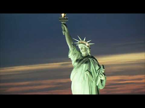 Beautiful and Amazing Aerial Footages Cities of the World  Sleep and Relax Music Screensaver