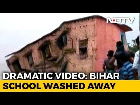 On Camera, Bihar School Washed Away In Ganga River