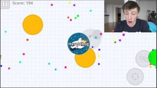 HELLO AGAIN......... AGAR.IO FUN!!