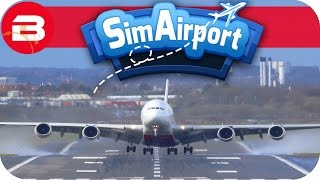 SIM AIRPORT Gameplay - SECOND RUNWAY!!! Lets Play SIMAIRPORT Alpha #12