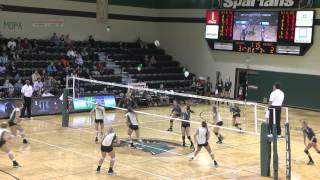 Volleyball: USC Upstate vs. Jacksonville Highlights 11-15-13