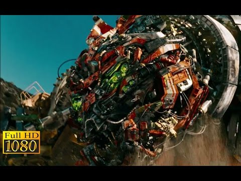 Transformers 2 - Revenge of The Fallen (2009) - Devastator attack |Cut| Scene (1080p) FULL HD