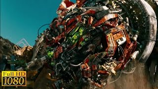 Transformers 2 - Revenge of The Fallen (2009) - Devastator attack Cut Scene (1080p) FULL H ...