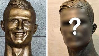 Cristiano Ronaldo's NASTY Sculpture Gets A Do Over: Is it Any Better?