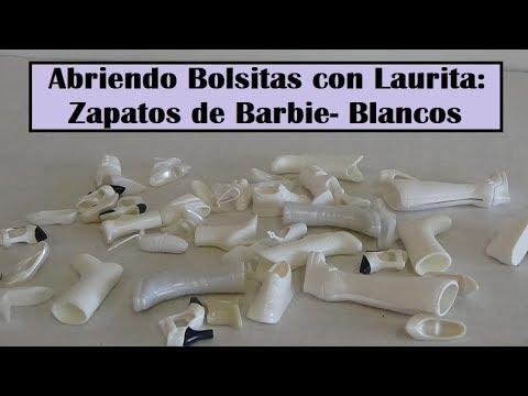 5632286c9 Abriendo Bolsitas con Laurita: Zapatos de Barbie - Zapatos Blancos ...