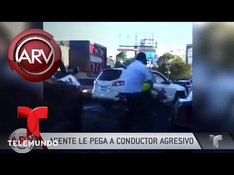 Agente de transporte pelea con chofer en R. Dominicana | Al Rojo Vivo | Telemundo