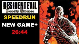 Resident Evil Deadly Silence Speedrun 26:44