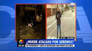 San Borja: Joven murió luego de ser intervenido por serenos