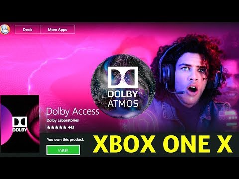 Dolby Atmos Settings on Xbox One X Dolby Access App & Giveaway Winners