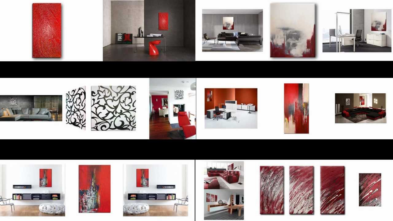 wandbilder abstrakte acrylbilder handgemalt slavova art youtube. Black Bedroom Furniture Sets. Home Design Ideas