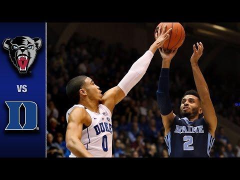 Duke vs. Maine Men's Basketball Highlights (2016-17)