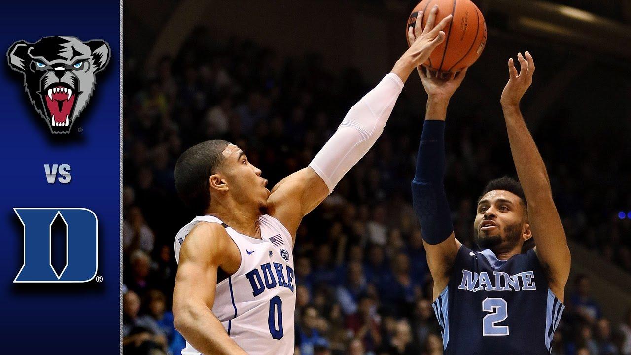 Duke vs. Maine Men's Basketball Highlights (2016-17) - YouTube