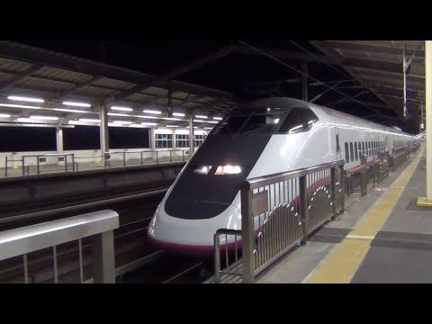 那須塩原駅 列車発着と通過 東北新幹線