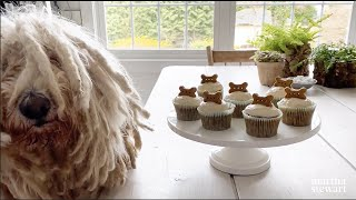 How to Make Pupcakes for Your Dog - Martha Stewart